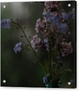 Moody Bouquet Acrylic Print