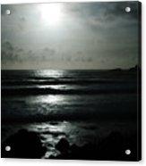 Moody Coast Acrylic Print