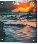 Moody Ocean Acrylic Print