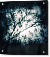 Moody Tablet Reflection Acrylic Print