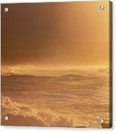 Moomomi Beach Sunset Acrylic Print