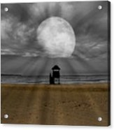 Moon Beams Acrylic Print