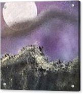 Moon Captured Acrylic Print
