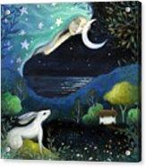 Moon Dream Acrylic Print