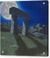 Moon Gate Acrylic Print