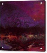 Moon Glow 5-6-11 Julianne Felton Acrylic Print