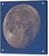 Moon In Blue Acrylic Print