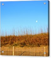 Moon In The Morning Acrylic Print