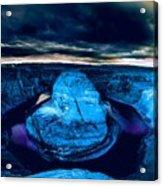 Moon Light Glory Acrylic Print