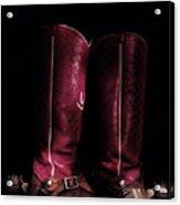 Moon Lite Boots Acrylic Print