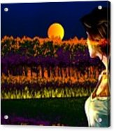 Moon Love Acrylic Print