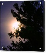 Moon Magical Glow Acrylic Print