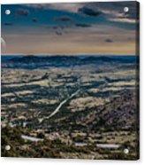 Moon On The Plains Acrylic Print