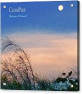 Moon Over Casapaz Acrylic Print