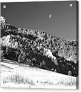 Moon Over Chatauqua 2 Acrylic Print