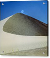 214804-moon Over Dune  Acrylic Print