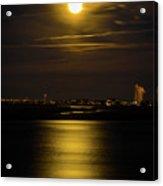Moon Over Tubbs Acrylic Print