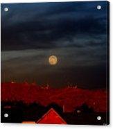 Moon Over Yuma Acrylic Print