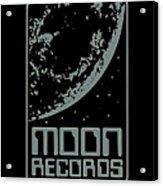 Moon Records Acrylic Print