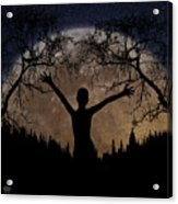 Moon Rising Acrylic Print