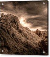 Moon Rocks Acrylic Print by Scott McGuire