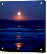 Moon Set Acrylic Print