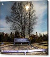 Moon Shadow Iroquois Point -1462 Acrylic Print