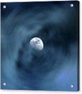 Moon Swirl Acrylic Print