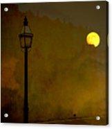 Moon Walker Acrylic Print