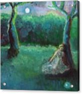 Moonbeam Acrylic Print