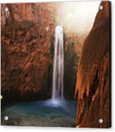 Mooney Falls Grand Canyon 1 Acrylic Print