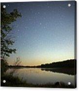 Starlight Over Susan Lake Acrylic Print
