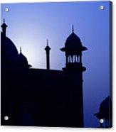 Moonlight And Minarets Acrylic Print