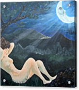Moonlight And Sorrow Acrylic Print