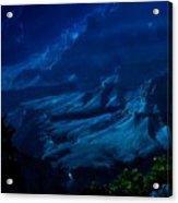 Moonlight At Grand Canyon Acrylic Print