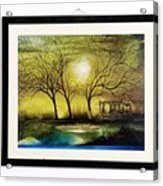 Moonlight At Masinagudi Acrylic Print