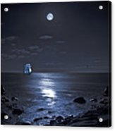 Moonlight Bay Acrylic Print