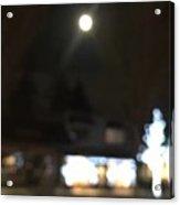 Moonlight In Edgemont Acrylic Print
