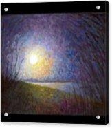 Moonlight Lake Acrylic Print