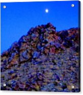 Moonlight Over Peggy's Mountain Acrylic Print