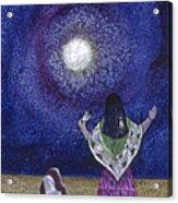 Moonlight Prayer Acrylic Print