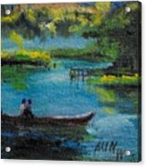 moonlight Ride Acrylic Print