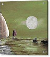 Moonlight Sailnata 2 Acrylic Print