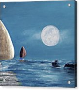 Moonlight Sailnata 4 Acrylic Print