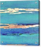 Moonlight Sea Acrylic Print