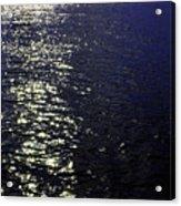 Moonlight Sparkles On The Sea Acrylic Print