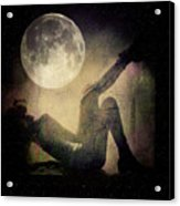 Moonlight Tanning V3 Acrylic Print