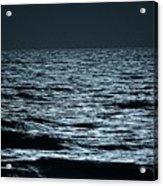 Moonlight Waves Acrylic Print