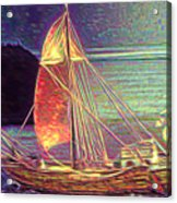 Moonlit Corbita I Acrylic Print