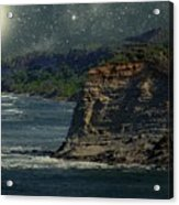 Moonlit Cove Acrylic Print